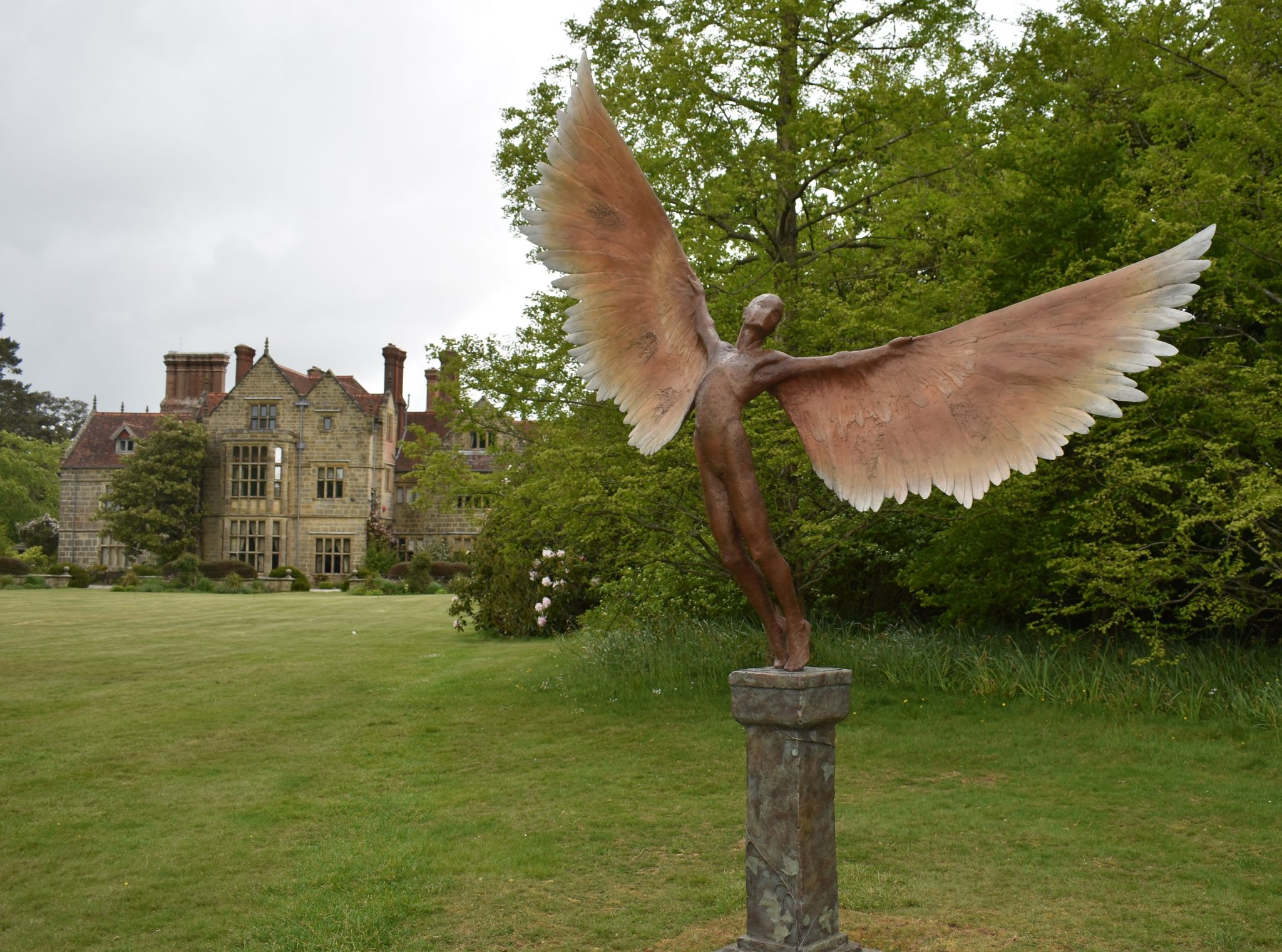 Sculpture at Borde Hill Gardens