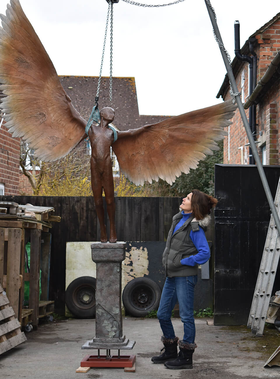 Icarus I resin casting