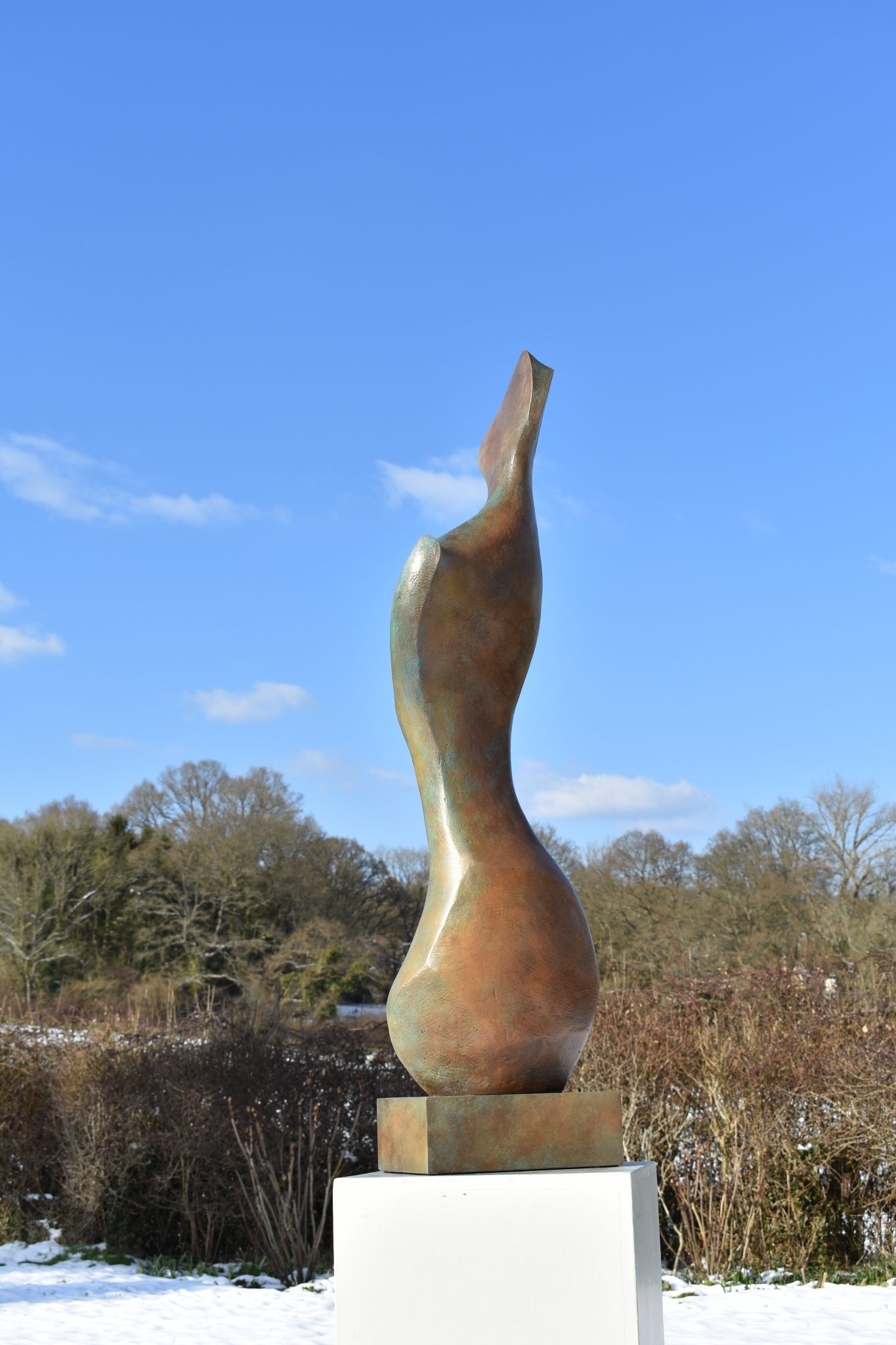 Bronze figurative sculpture for sale in UK