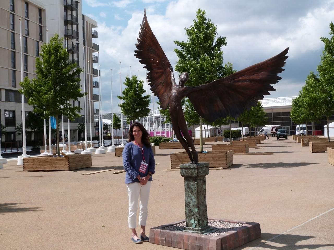 Olympic Village 2012 Icarus