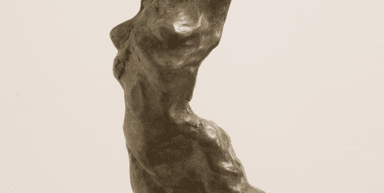 Ecalt de Pierre Bronze Sculpture