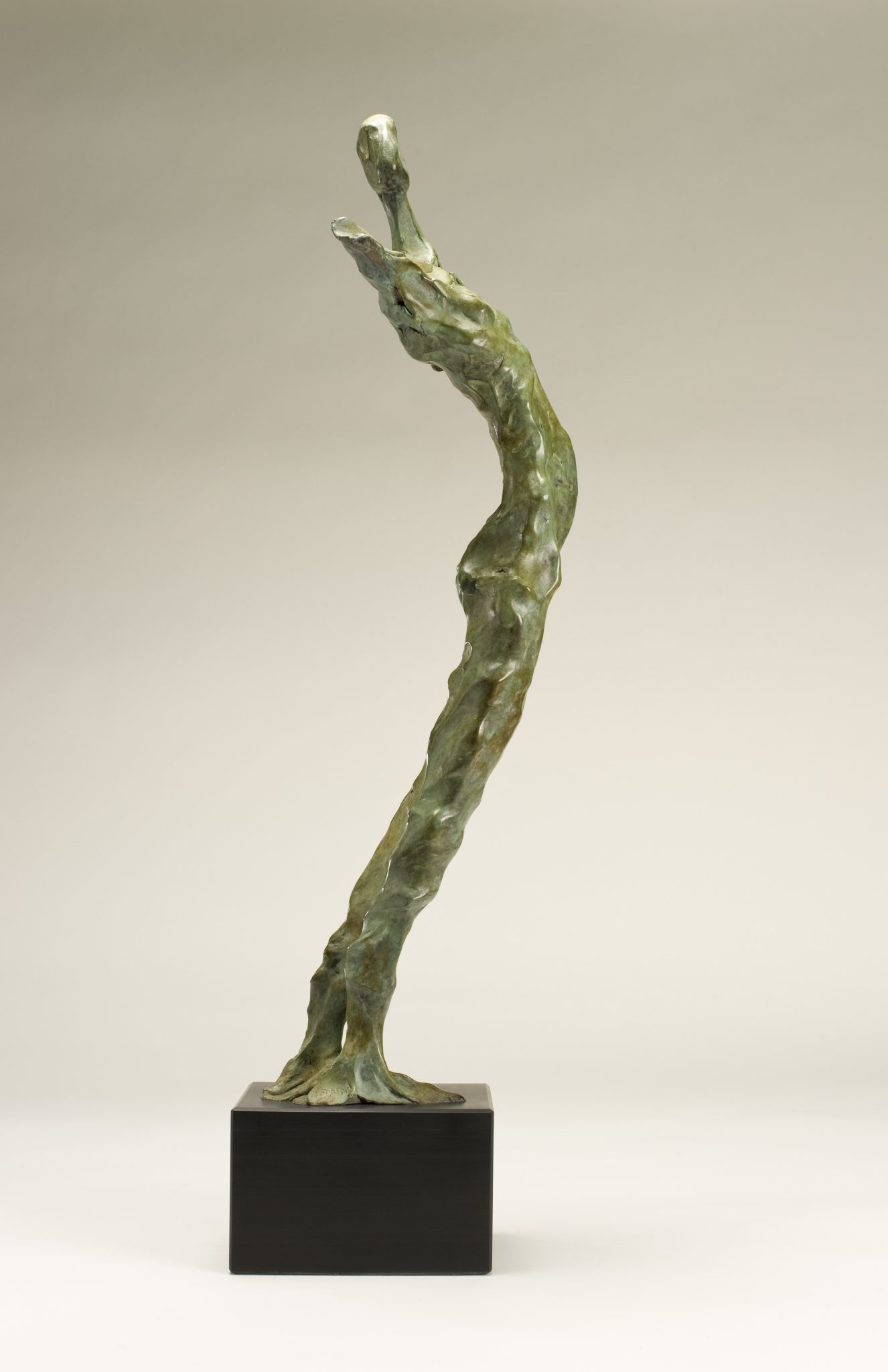 Arche Ossulaire. Bronze figurative sculpture